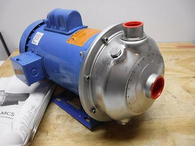 NEW Goulds Water Centrifugal Pump 1MS1F4B4 Stainless Steel Housing Fast Shipping