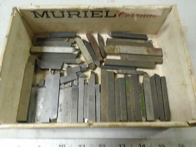 MACHINIST TOOL LATHE MILL  Lot of Lathe Cutting Tool Bits for Atlas South Bend