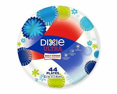 SALE! Dixie HD Paper Plates 176 Count Colorful Dinner Plates For Holiday, Guests