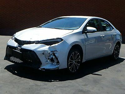 2017 Toyota Corolla SE 2017 Toyota Corolla SE Sedan Wrecked Clean Title Only 4K Mi Economical Must See!