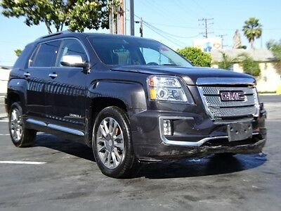 2016 GMC Terrain Denali AWD 2016 GMC Terrain Denali AWD Crashed Repairable Only 7K Mi Loaded w Options L@@K!