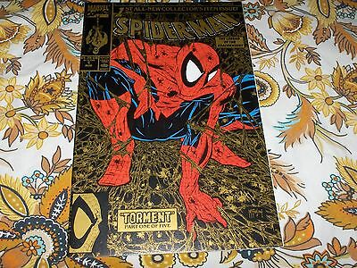 Spiderman # 1...Gold cover...2nd printing