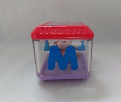 """Fisher Price Peek A Boo Block Alphabet Letter """"M"""" for Monkey Replacement Toy"""