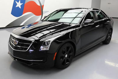 2016 Cadillac ATS  2016 CADILLAC ATS 2.0T LUX LEATHER SUNROOF REAR CAM 33K #131520 Texas Direct