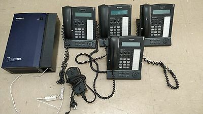 Panasonic TDA30 with 4 x handsets - Excellent Condition - FREE SHIPPING