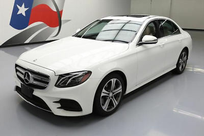 2017 Mercedes-Benz E-Class  2017 MERCEDES-BENZ E300 SPORT SUNROOF NAVIGATION 18K MI #121417 Texas Direct