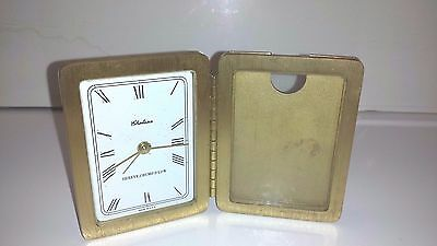 Chelsea Small Alarm Clock W/ Picture Frame