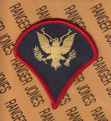 "US Army Enlisted Specialist Fourth Class Spec-4 E-4 BAND 3"" uniform patch rank"