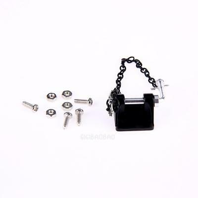 Metal Tow Shackle Trailer Hook for Axial SCX10 TAMIYA  CC01 RC4WD D90 D110
