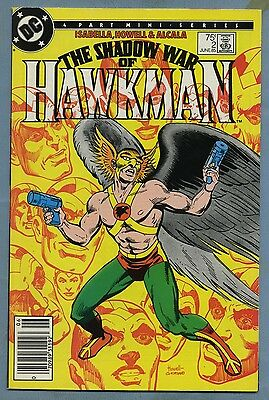 The Shadow War of Hawkman #2 1985 DC Comics v