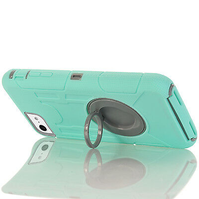 """Shockproof Rugged PC Hybrid Hard Stand Cover Case for Apple IPhone 7(4.7"""")Skin"""