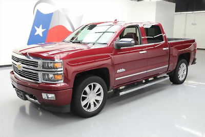 2015 Chevrolet Silverado 1500 High Country Crew Cab Pickup 4-Door 2015 CHEVY SILVERADO 1500 HIGH COUNTRY SUNROOF NAV 51K #259777 Texas Direct Auto