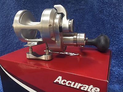 Accurate Boss Fury FX2-400 2-speed Lever Drag Reel BRAND NEW