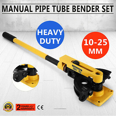 Manual Pipe Tube Bender Set Metal Pipe Round&square Hand Operated Newest Pro