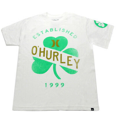 Hurley Youth Ohurley T-Shirt White L