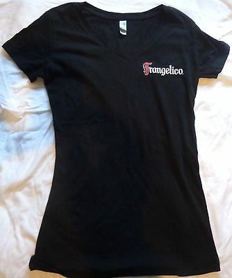 Frangelico - The Hazelnut Liqueur - Ladies Promo Shirt...Small...Black...NEW