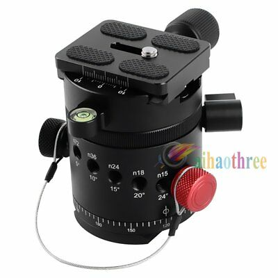 DH-55 Panoramic Panorama Indexing Rotator Head Tripod Head With QR Plate & Clamp