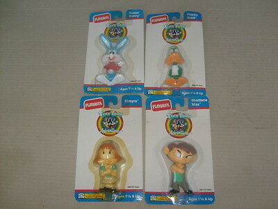 lot of 4 Playskool Tiny Toon Adventure PVC Figure 1991 plucky duck buster bunny