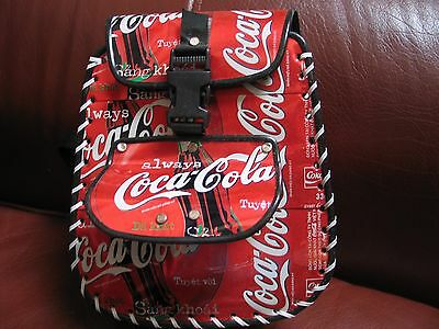 Orginal Coca Cola Mini  Backpack Coke Cans