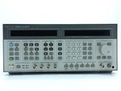 Keysight Used 8664A Synthesized Signal generator, 0.1-3 GHz,(Agilent)