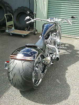 Harley Davidson. High End Design, Full Custom Build Chopper. DESIGN GARAGE