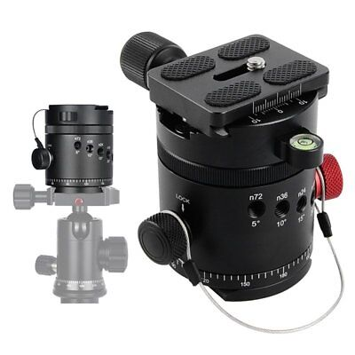 DH-55 Panoramic Indexing Rotator Tripod Head With Quick Release Plate & Clamp【AU