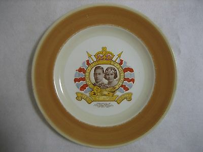 Shelley - King George & Queen Elizabeth - 1937 Coronation Plate