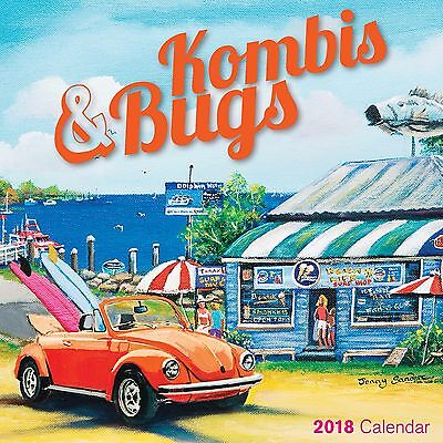 Kombis & Bugs  2018 Mini Wall Calendar NEW by Bartel Calendars, Postage Included