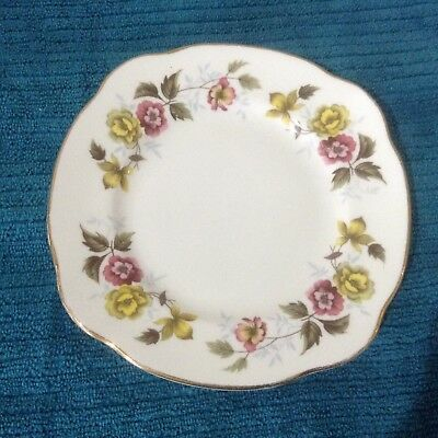 Duchess English Bone China Floral Bread & Butter Plate