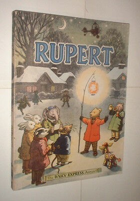 1949 RUPERT BEAR ANNUAL book UNCLIPPED