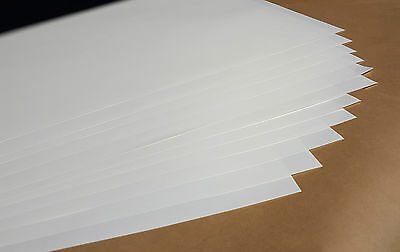 250x Silicone Release Paper Sheets 100gsm  1,000mm x 700mm Tape Backing Paper