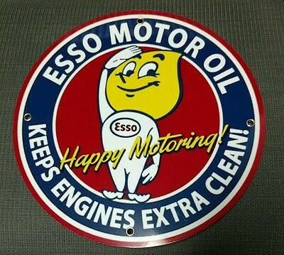 Esso Gas Oil gasoline sign