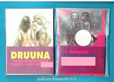 SERPIERI DRUUNA SET DI 3 PROMO CARDS - Carte da collezione Limited Edition