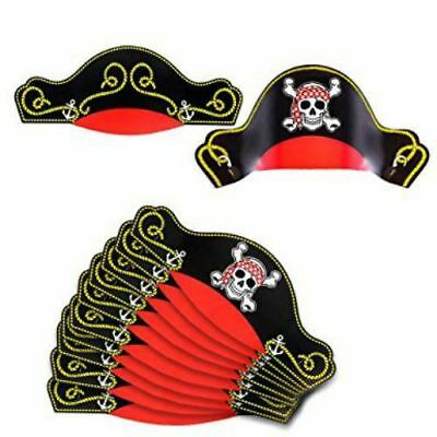 Pirate Party Birthday Hats for Pack of 12
