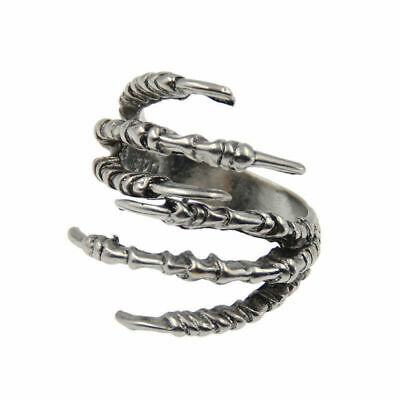 2x Claw of Eagle Beads Dreadlock Clip Dread Antique Hair Jewelry Accessories DIY