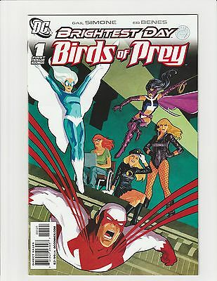Birds of Prey #1 (2010 DC) 1st App White Canary Cliff Chiang 1:25 Variant NM+