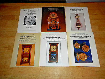 Large lot 52 NAWCC National Watch Clock Bulletin Magazines  1980's/90's  s2