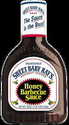 Sweet Baby Ray's Honey Barbecue Sauce - 18oz/510g