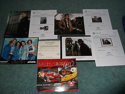 5 Rare Signed Autograph Photo Being Human Falling Skyes Sherlock Holmes Nascar