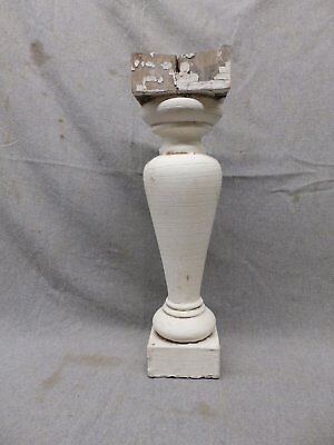 1 Antique Large Architectural Porch Baluster Shabby Spindle Chic Vtg 468-17P