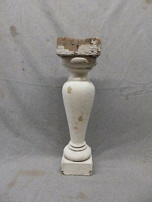 1 Antique Large Architectural Porch Baluster Shabby Spindle Chic Vtg 470-17P