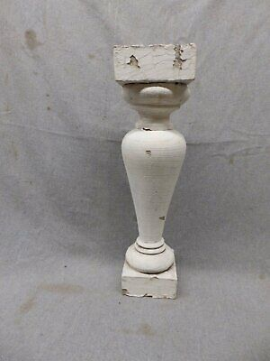 1 Antique Large Architectural Porch Baluster Shabby Spindle Chic Vtg 473-17P
