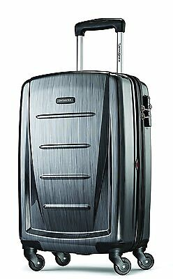 Samsonite Winfield 2 Fashion 20-Inch Spinner Suitcase, Charcoal, One Size