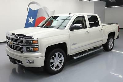 2014 Chevrolet Silverado 1500 High Country Crew Cab Pickup 4-Door 2014 CHEVY SILVERADO HIGH COUNTRY CREW 4X4 6.2L NAV 41K #449923 Texas Direct