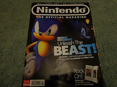 nintendo official magazine sonic issue 29