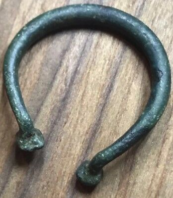 *1000 Years Old* Viking Pennannular Brooch. Authentic Artefact.