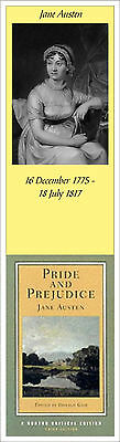 Classic Authors Bookmarks Austin Bronte Dickens Hardy Joyce Shakespeare & More