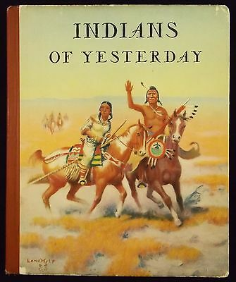 Wonderful Book on Native Americans 1940 By Marion Gridley & Lone Wolf