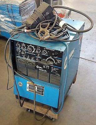 Miller Syncrowave 250 - TIG / STICK Welder / Torch / Foot Control / Clamps / All