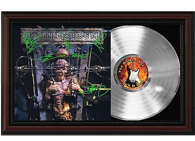 "Iron Maiden - The X Factor Platinum Cherrywood Signature Display ""M4"""